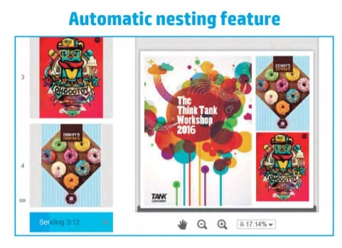 HP Click Nesting