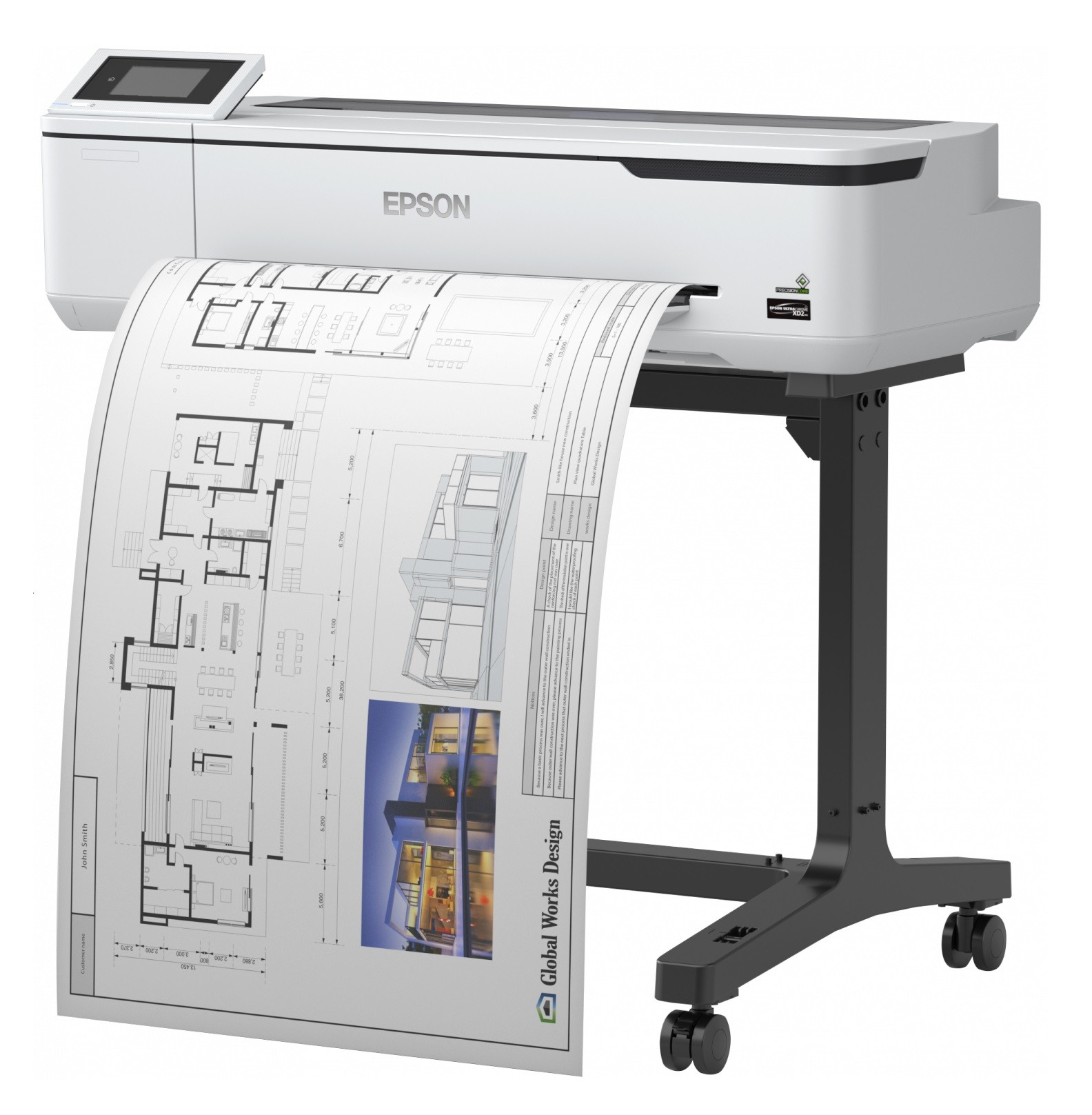 EPSON SC-T2100 with Stand
