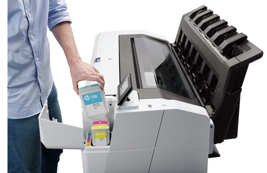 HP Designjet T1600 ink