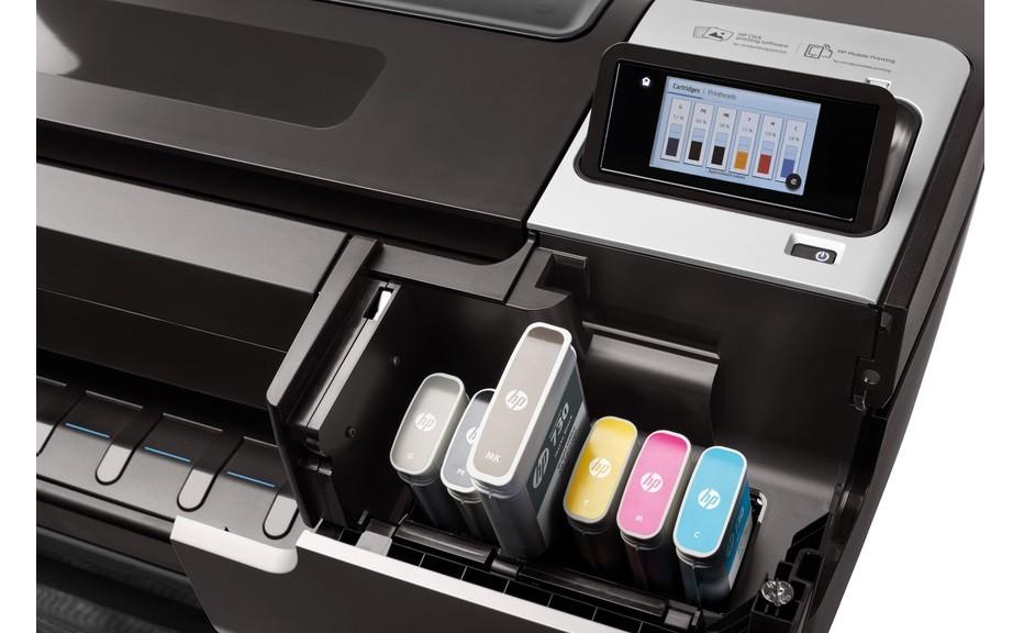 HP T1700 DesignJet Ink