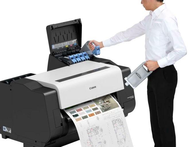 TX-2000 ink change