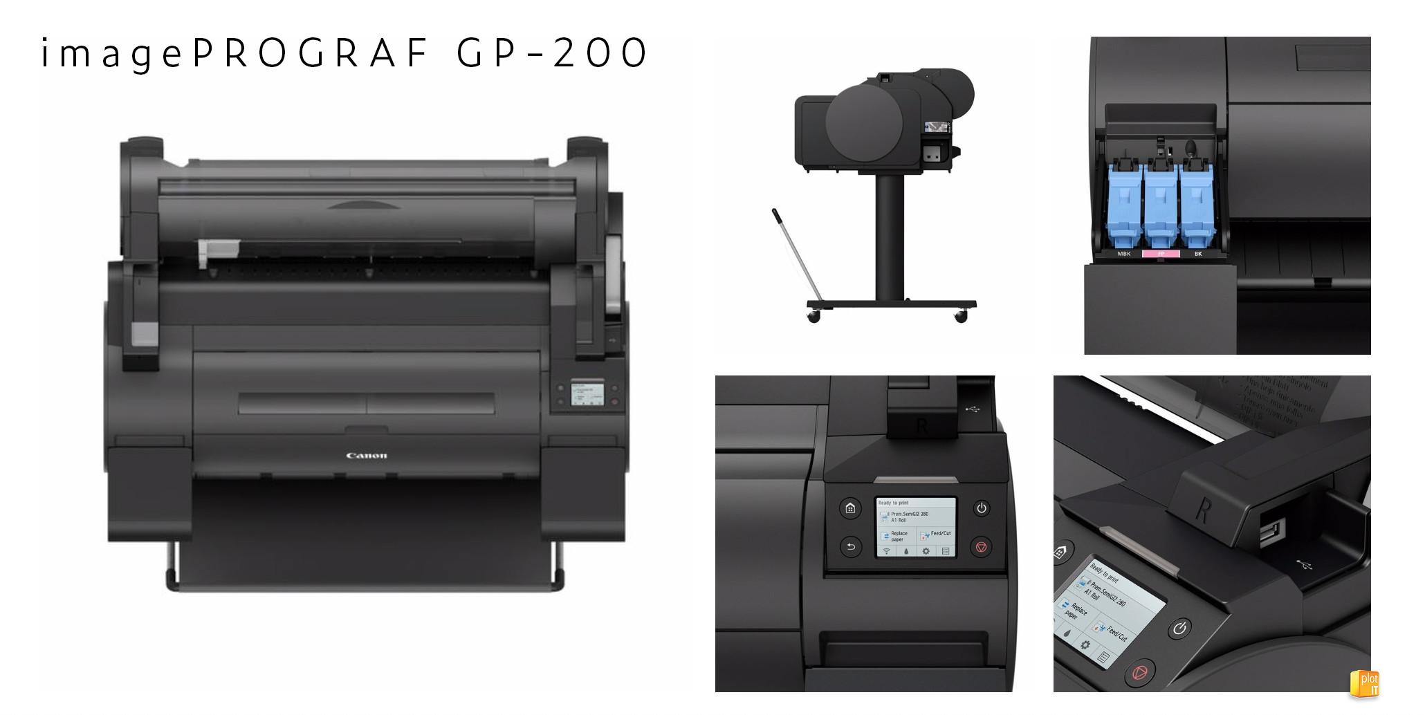 Canon imagePROGRAF GP-200 image collage