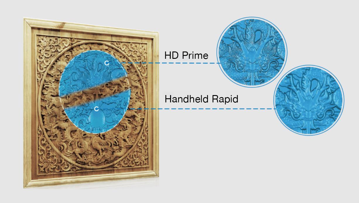 Einscan HD Prime comparison