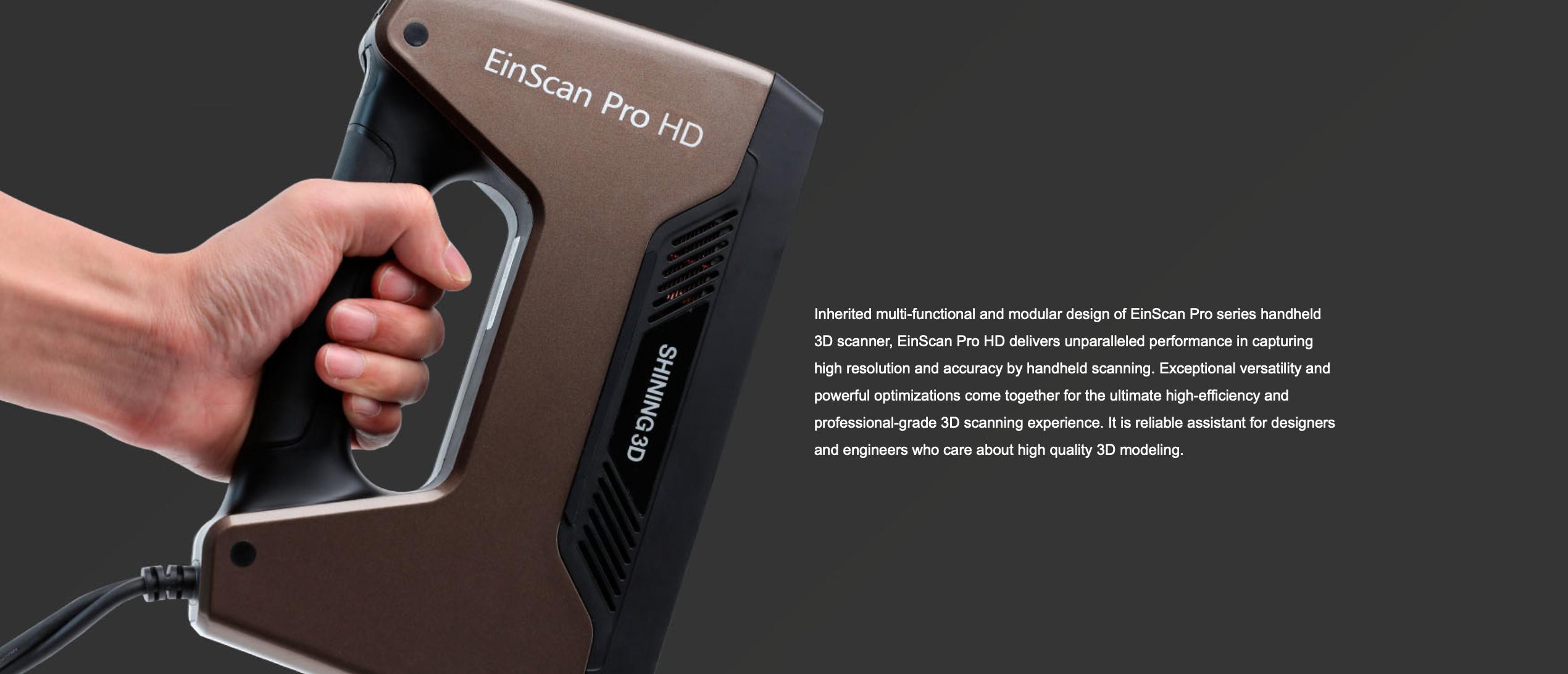 EinScan Pro HD OVERVIEW