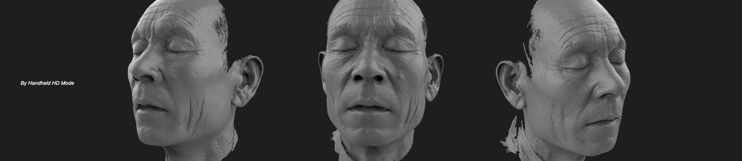 EINSCAN PRO HD SCAN OF FACE