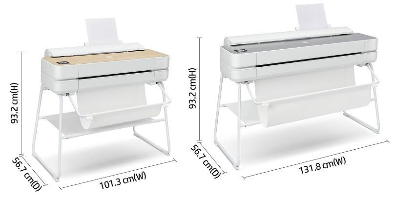 HP DesignJet Studio Dimensions