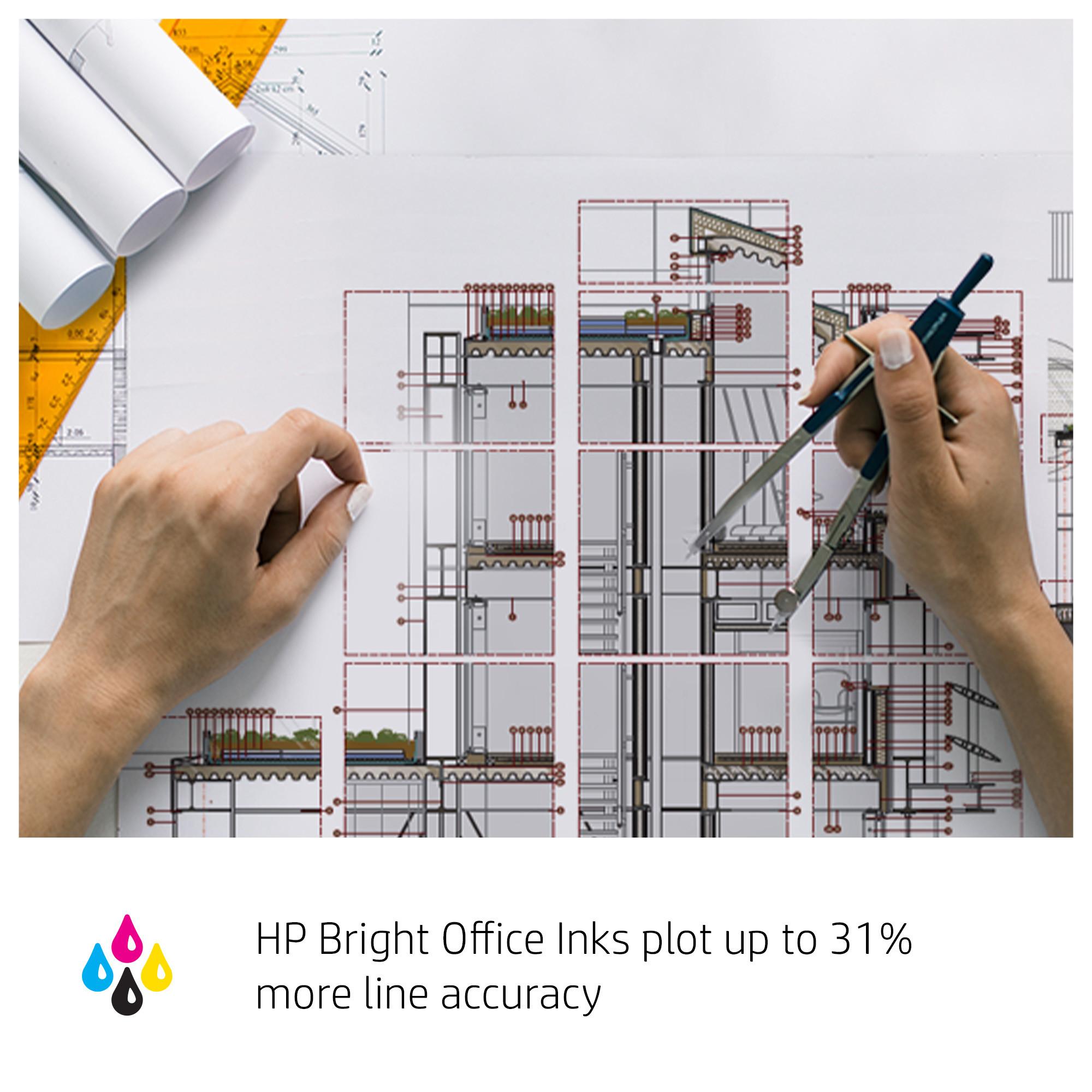 HP designJet T230 ink