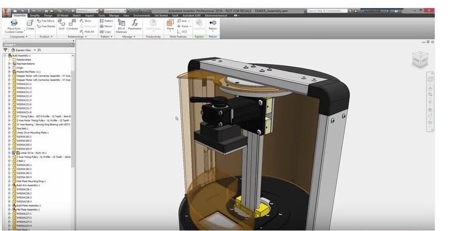 Inventor Assembly Modelling