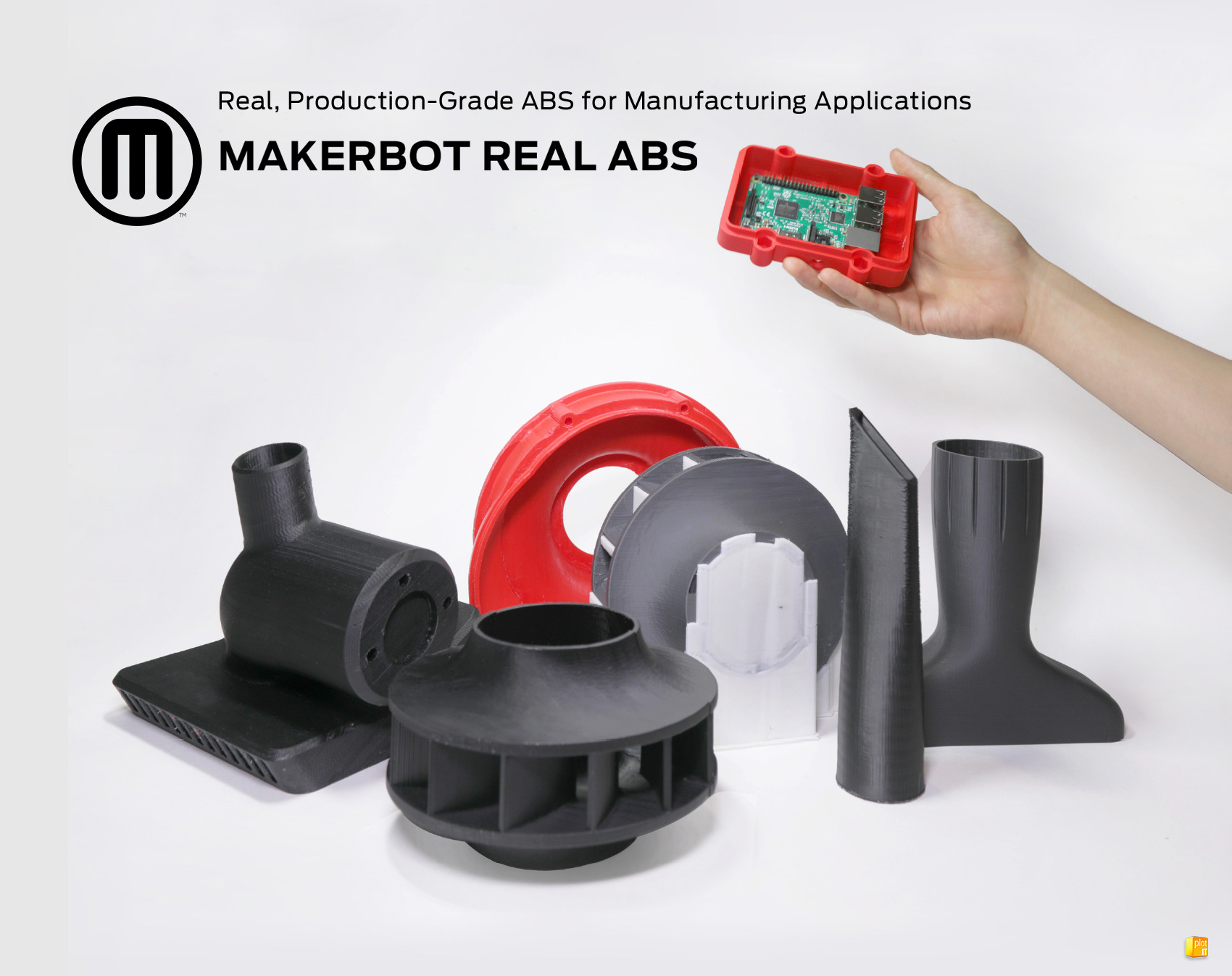 Makerbot precision ABS filament banner