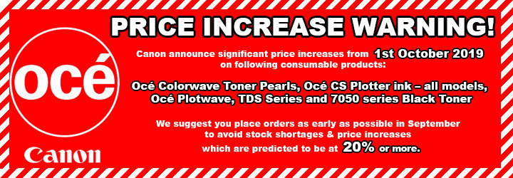 Oce Price Increase Colorwave