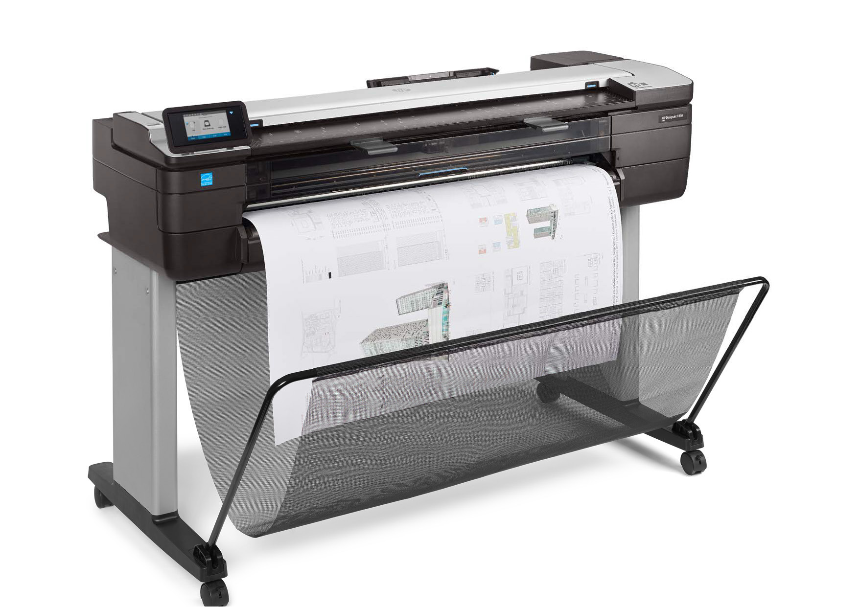Hp Designjet T830 Multi Function Printer F9a30a Hewlett Packard Plotter T520 24 Inch Setting A Bench Mark For Functional Wide Format Printing