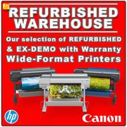 Refurbished wide-format printers and scanners
