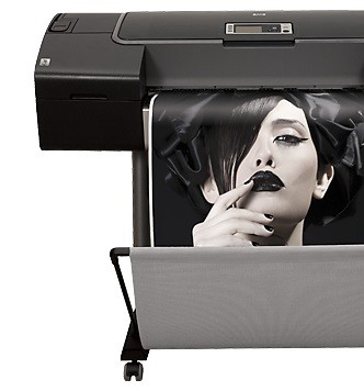 Z3200 Black and white large format photo printing