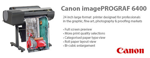 Photographic, Fine Art & Canvas Printers promotion