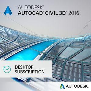 AutoCAD CIVIL 3D - Annual Desktop Subscription