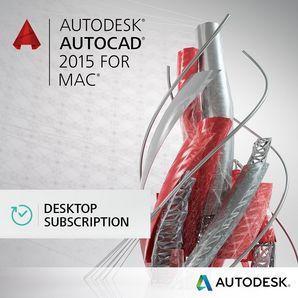 AutoCAD for MAC - Quarterly Desktop Subscription   Autodesk