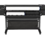 "HP Designjet Z5400 PostScript 44"" ePrinter E1L21A: HP Z5400, back view"