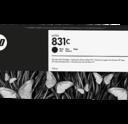 HP 831C Black ink - HP 831C Latex 300 Ink Cartridges & Optimizer 775ML