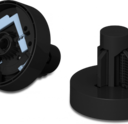 pair of media adapters - Epson Roll Media Adapters (pair) C12C811241