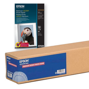 Epson C13S041377 Premium Glossy Photo Paper 255g/m² 210mm x 10m roll