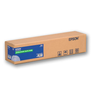 "Epson C13S041385 Doubleweight Matte Paper 180g/m² 24"" 610mm x 25m roll"