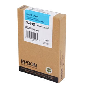 Epson Stylus Pro 4000/ 7600/ 9600 UltraChrome Ink C13T543500 Light Cyan 110ml cartridge