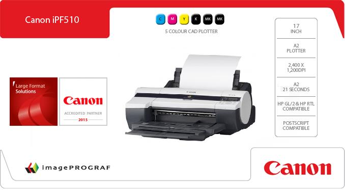 Canon imageprograf ipf510 17 plotter canon imageprograf ipf510 printer 2158b003ab maxwellsz
