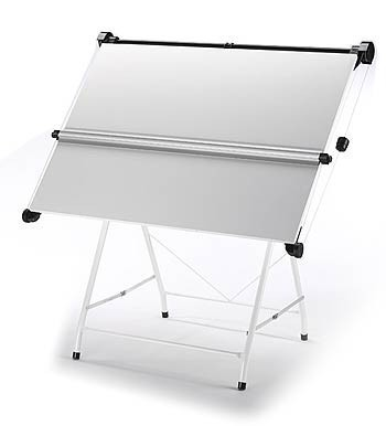 Vistaplan Stratford Compactable A1 Drawing Board U0026 Stand