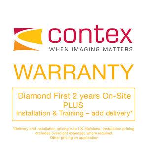 Contex Diamond First 2 years On-Site PLUS Installation & Training CON907