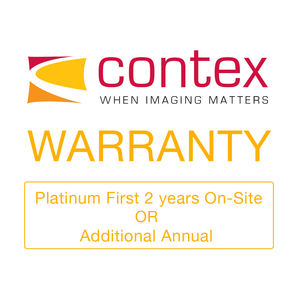Contex Platinum First 2 years On-Site OR Additional Annual CON904