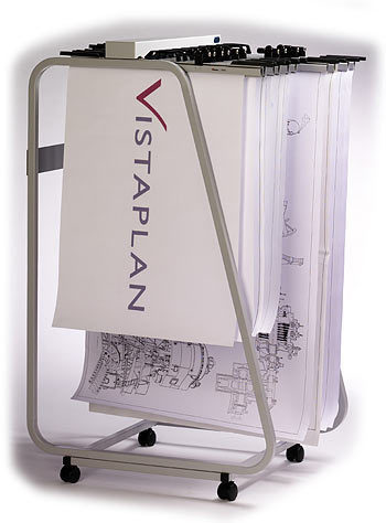 Vistaplan Front Loading Trolley Carrier for drawing and ...