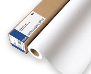 """Epson C13S042313 Cold Press Bright Paper 340g/m² 17"""" 432mm x 15m roll"""