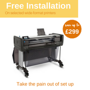 *** Free Installation & Set-up on selected Printers and plotters