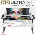 "HD ULTRA X_3690 - Contex HD Ultra X 3690 CON627 36"" A0 Large Format Scanner"