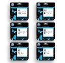HP 70_CARTRIDGES_ALL_PLOT-IT - HP 70 & 73 Designjet Z3100 Z3200 Z2100 Z5200 Z5400 Series Ink Cartridges 130ml