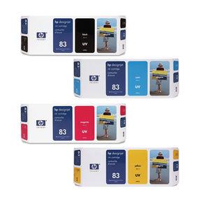 HP 83 Designjet 5000/5500 Series UV Ink Cartridges, Printheads and Multipacks