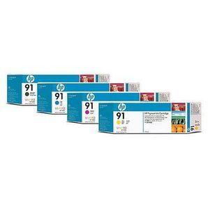 HP 91 Designjet Z6100 Ink Cartridge 775ml & Multipacks
