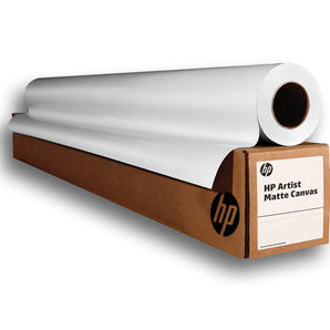 "HP Artist Matte Canvas 390g/m² E4J54B 24"" 610mm x 15.2m Roll"