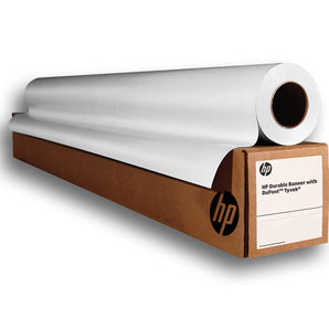 """HP Durable Banner with DuPont Tyvek 133g/m² C0F12A 36"""" 914mm x 22.9m Roll (2 Pack)"""