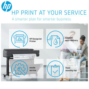 HP DesignJet Print At Your Service