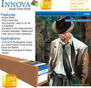 IFA96_ROLLS_PLOT-IT - Innova IFA96 Eco Solvent PolyCotton Canvas 370g/m² x 25mtr Roll