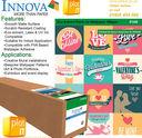 IFA98_ROLLS_PLOT-IT - Innova IFA98 Eco Solvent Paste Up Wallpaper 180g/m² x 25mtr Roll