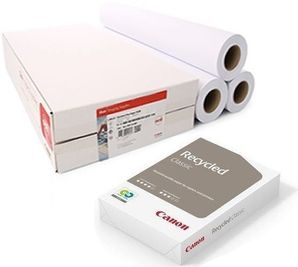 Canon Oce IJM043 80g/m² RECYCLED Plotter Paper 610mm x 50m Box 3