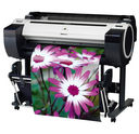 """Canon iPF785, front with print - Canon imagePROGRAF iPF780 or iPF785 36"""" Printer 8967B003AA 8966B003AA"""
