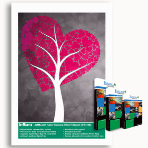 JetMaster® IFA129 Paper Canvas Effect 165g/m² IFA-129-0297-050 A3 size (50 sheets)