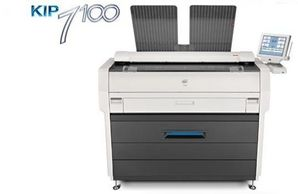 Kip 7100 Digital Wide Format Multifunctional Printer