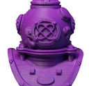 Makerbot True Purple Helmet - Makerbot True Purple PLA Filament (Small & Large Spools) MP05788 & MP05778