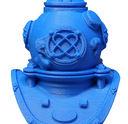 Makerbot True Blue Helmet - Makerbot True Blue PLA Filament (Small & Large Spools) MP05796 & MP05776