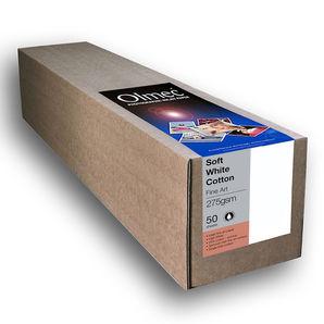 "Olmec Fine Art Soft White Cotton 275g/m² OLM15R60 60"" 1524mm x 15mtr Inkjet Canvas Roll"