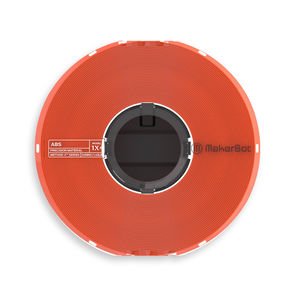 MakerBot Precision Material True Orange ABS for METHOD X 375-0022A